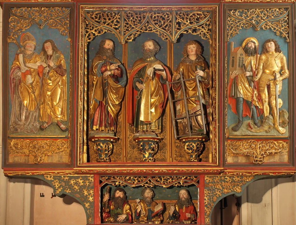 Altar mit Schatten - ID: 447